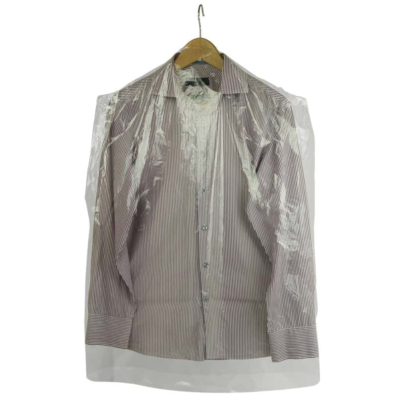 Clear Plastic Garment Covers Packaging Supplies